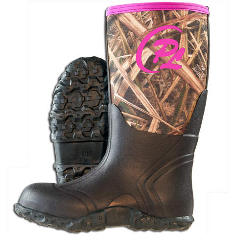 Woman's Proline Marshall Boots w/ Pink Trim - ProSport Outdoors