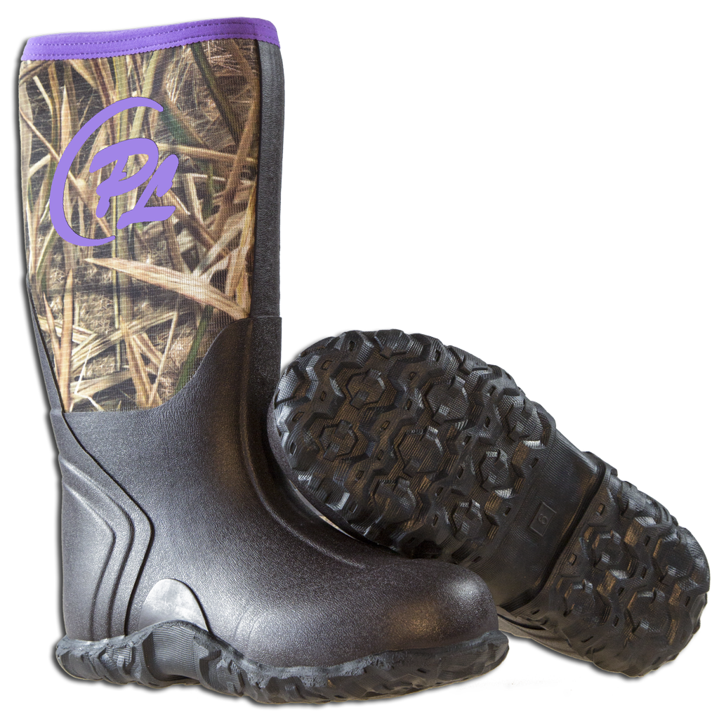 Woman's Marshall boots w/Purple trim - ProSport Outdoors