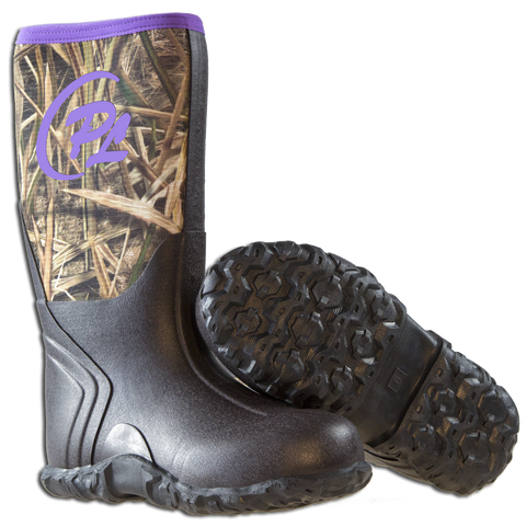 Woman's Proline Marshall boots w/Purple trim - ProSport Outdoors
