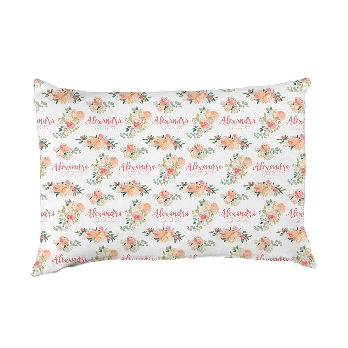 Alexandra's Springtime Floral | Big Kid Pillow Case