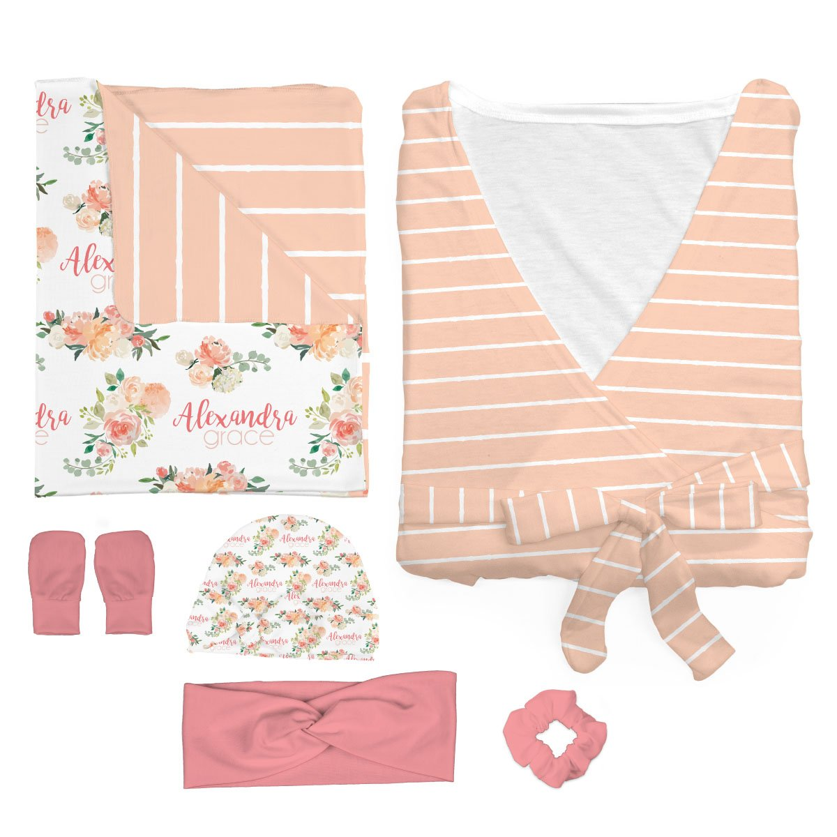 Alexandra's Springtime Floral | Mommy and Me Bundle