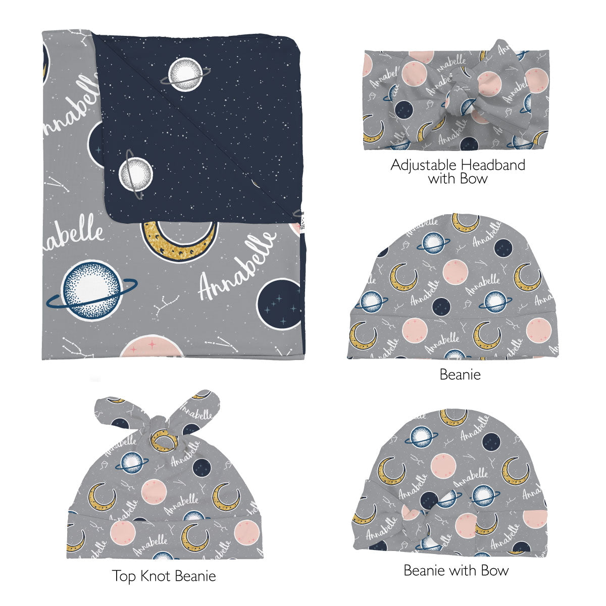 Annabelle's Outer Space | Swaddle Set