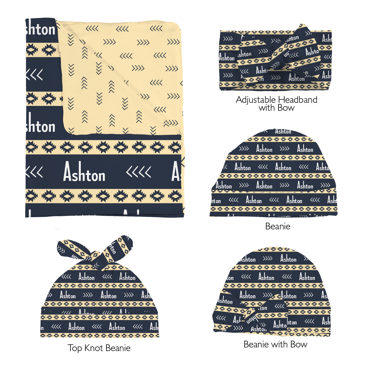 Ashton's Albuquerque Aztec | Swaddle Set