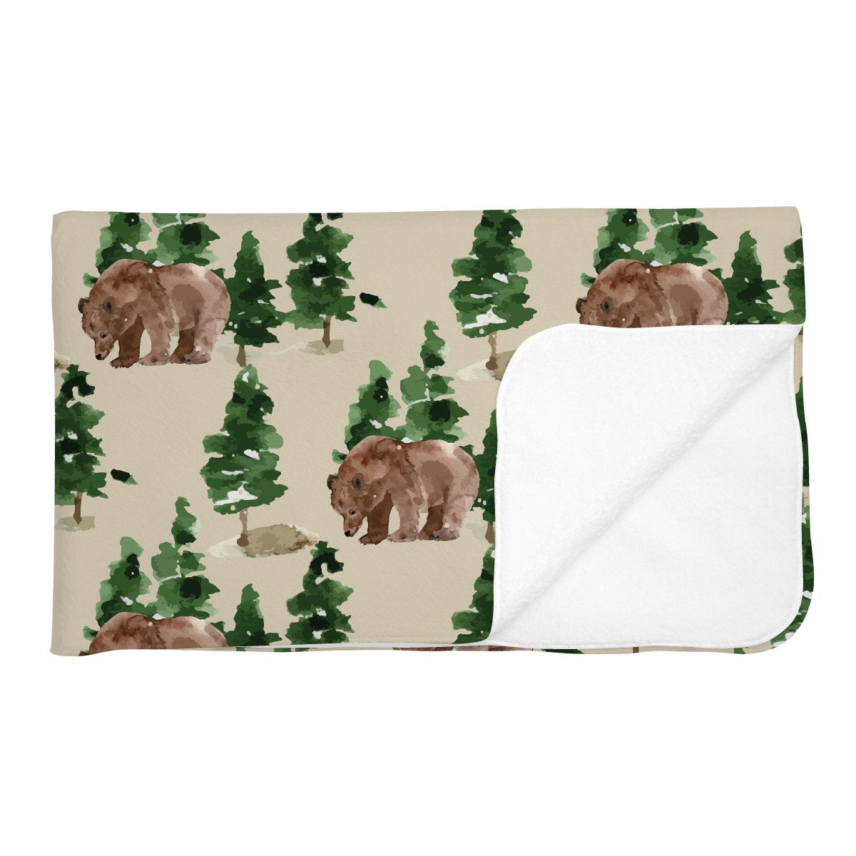 Aspen's Brown Bear | Adult Size Blanket