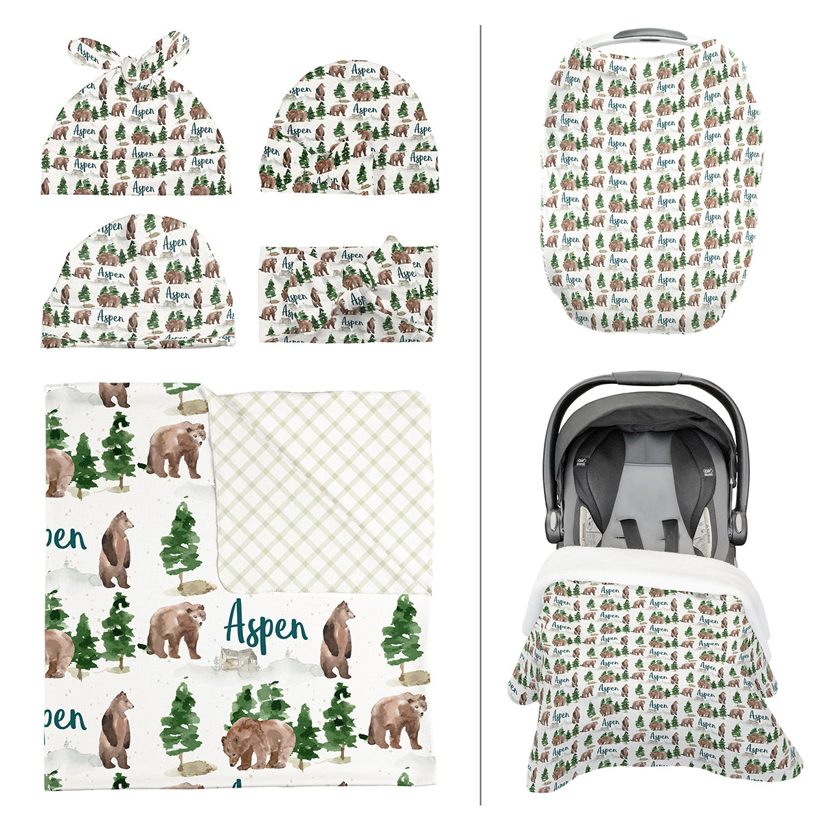 Aspen's Brown Bear | Take Me Home Bundle