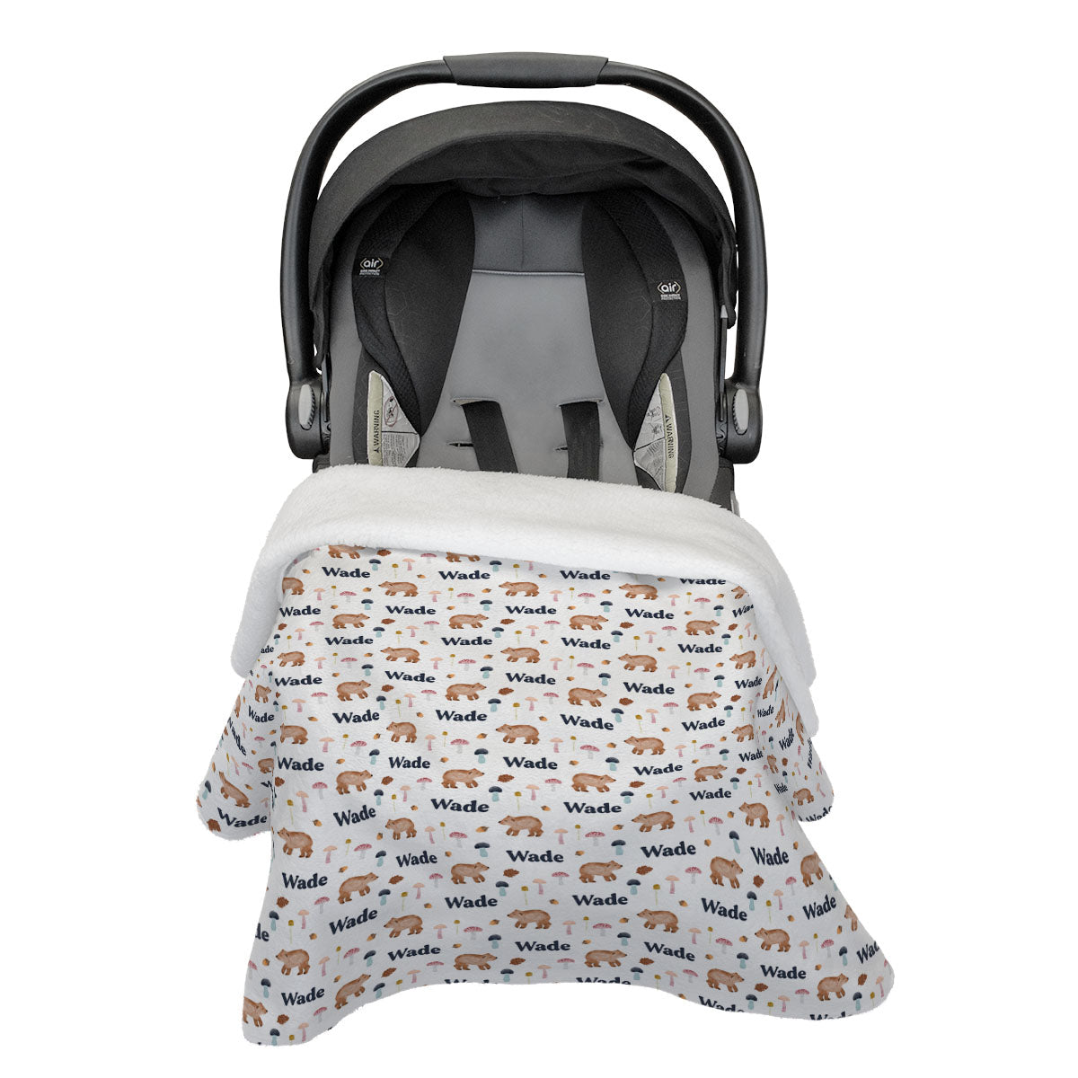 Bear Hunt | Car Seat Blanket
