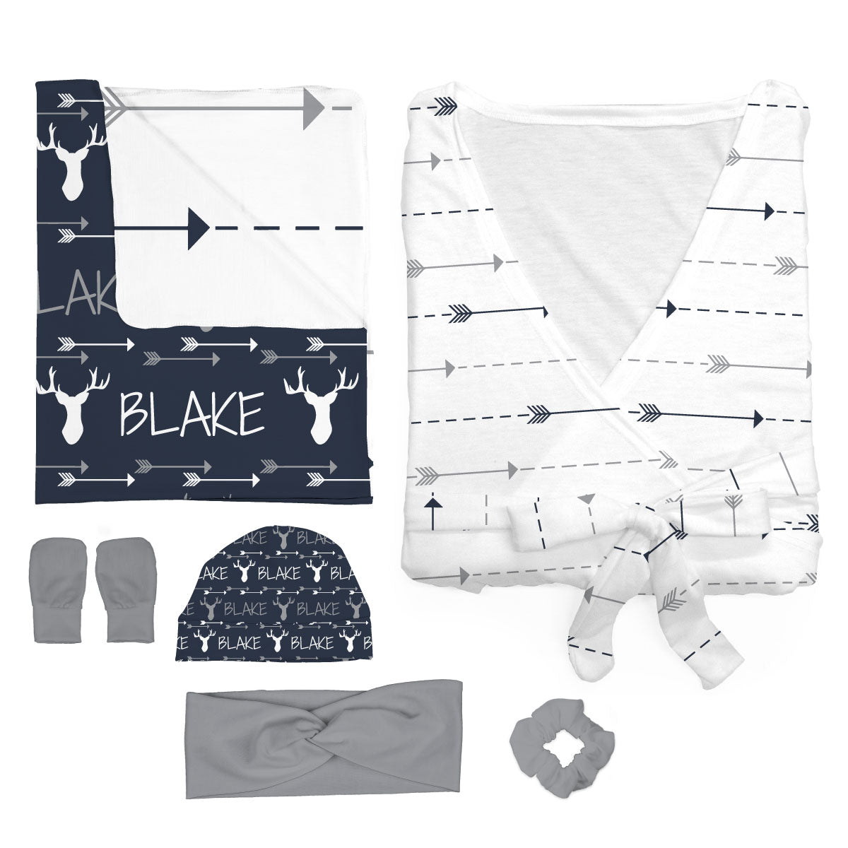 Blake's Buck and Arrows | Mommy and Me Bundle