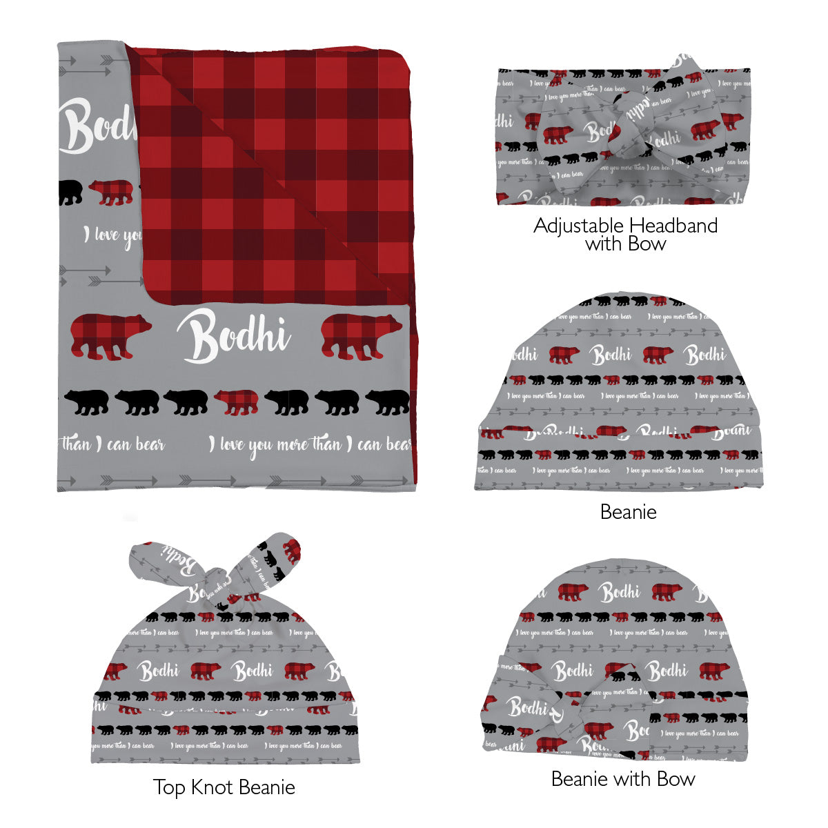 Bodhi's Bear Mountains Are Calling | Swaddle Set