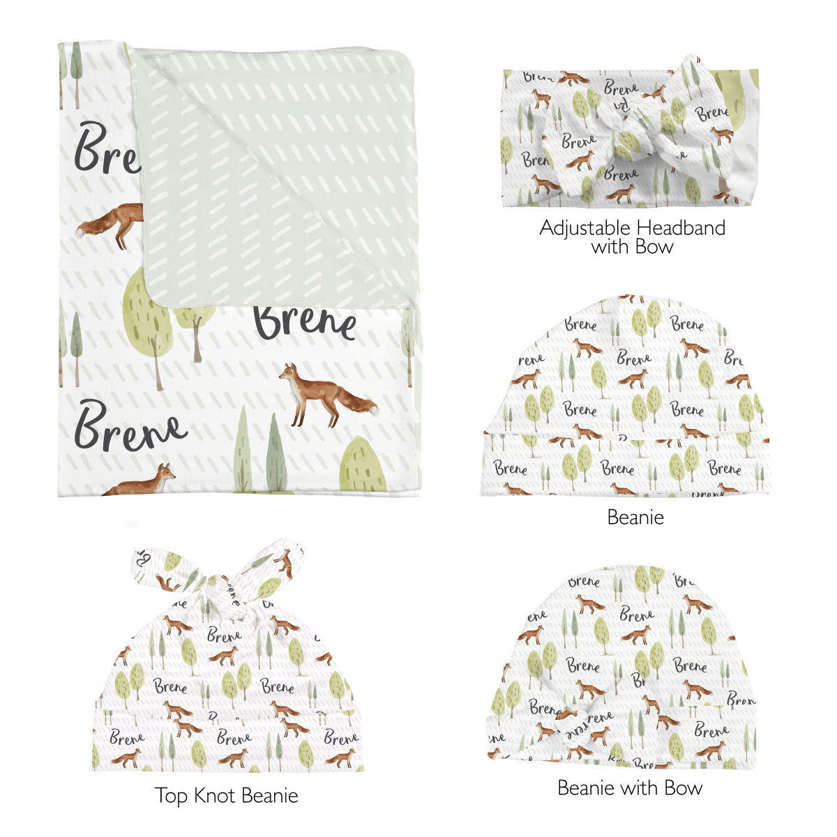 Brene's Walk Through the Woods | Swaddle Set