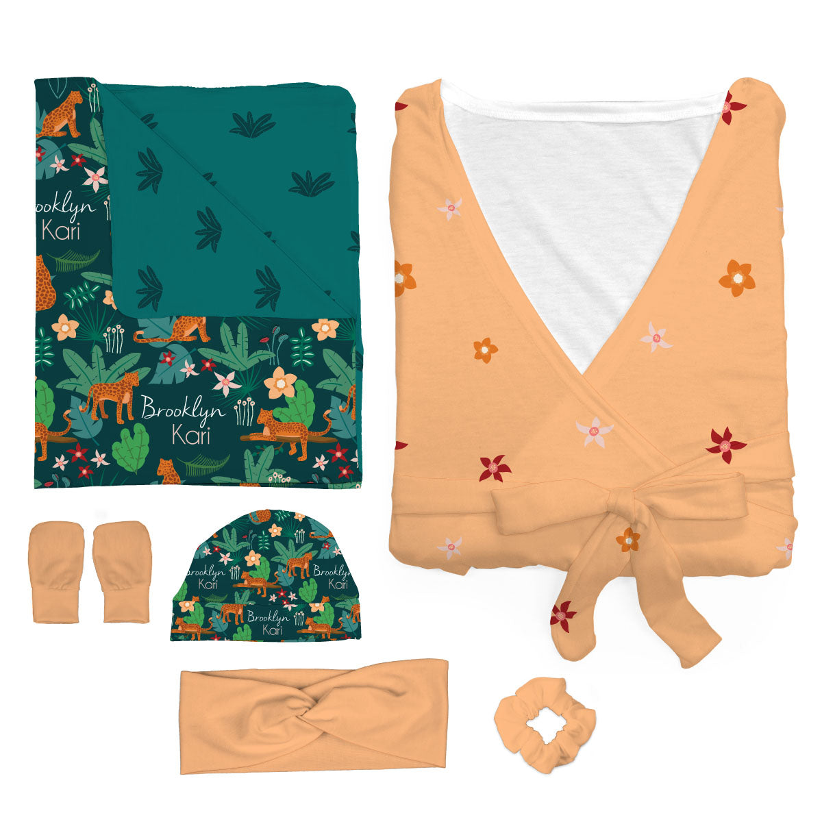 Brooklyn's Jungle Cats | Mommy and Me Bundle