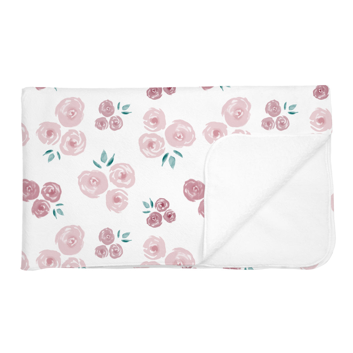Cassidy's English Rose | Adult Size Blanket