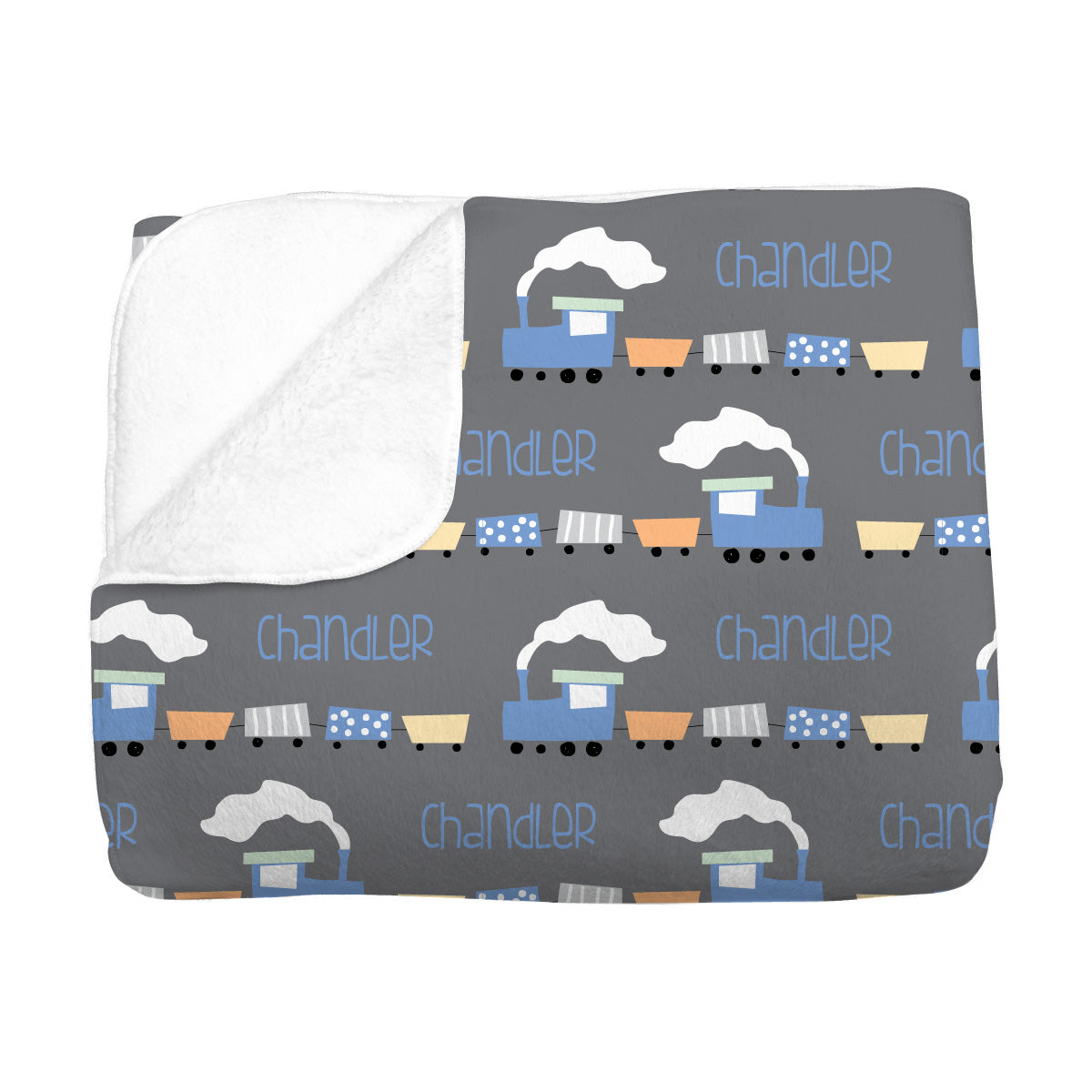 Chandler's Choo Choo Train | Big Kid Blanket