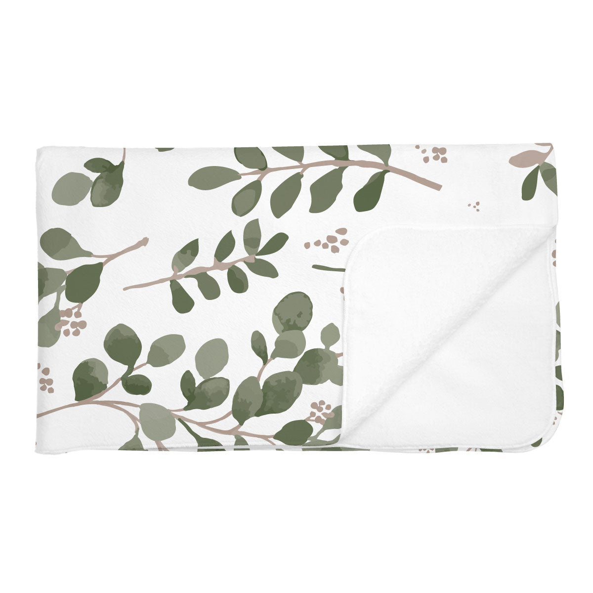 Charley's Farmhouse Greenery | Adult Size Blanket