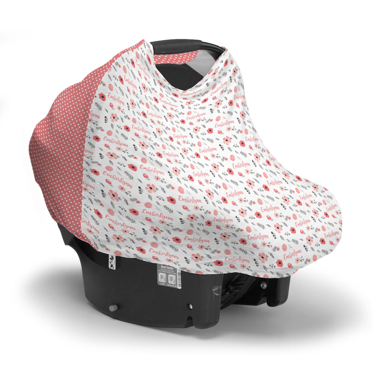 Emberlynn's Mountain Floral | Car Seat Cover (Multi-Use)