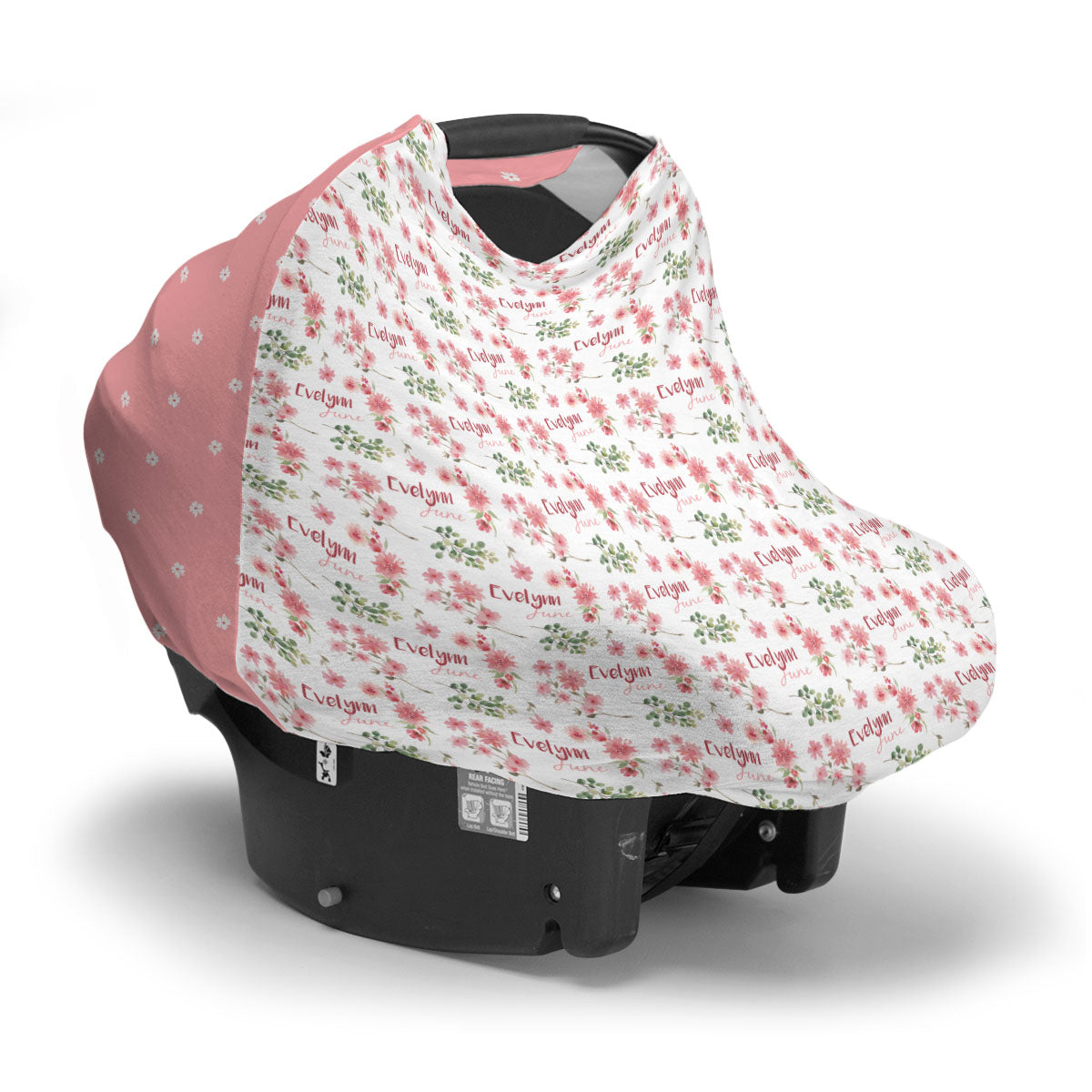 Evelynn's Spring Blossoms | Car Seat Cover (Multi-Use)