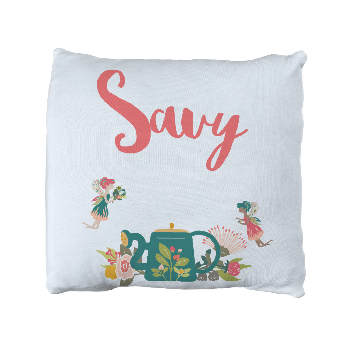 Fay's Garden Faries | Big Kid Throw Pillow