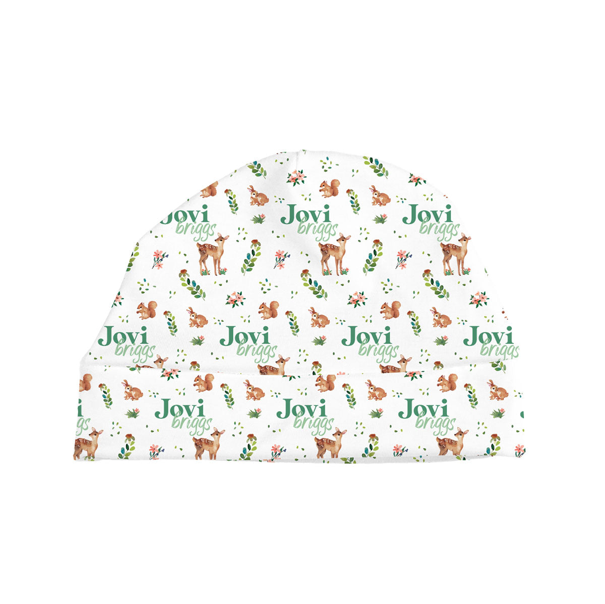 Frolicking Fawns | Baby Hat