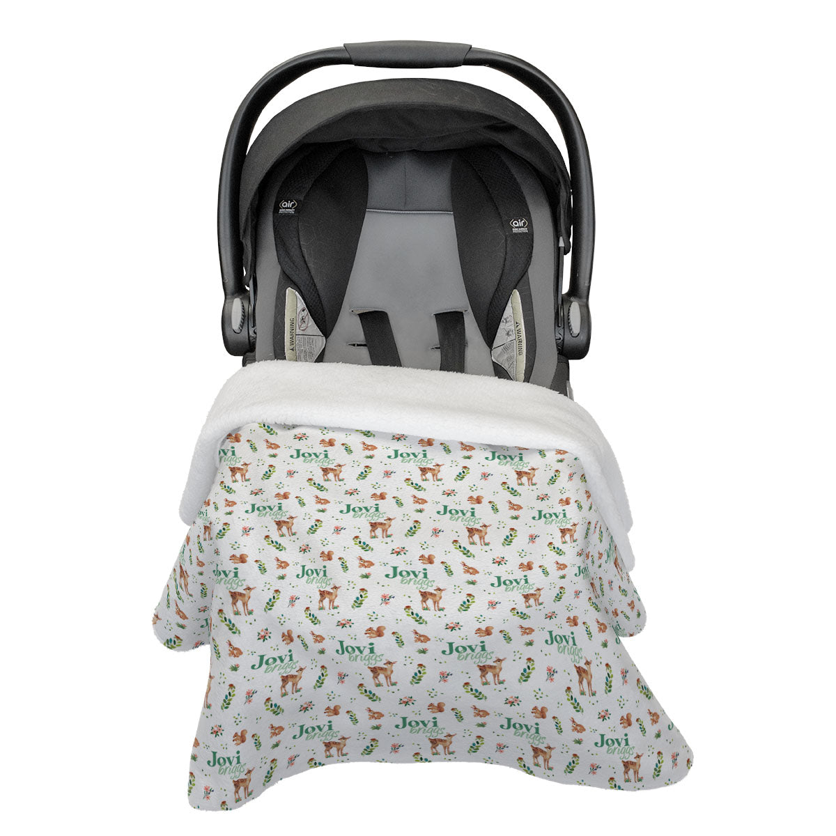 Frolicking Fawns | Car Seat Blanket