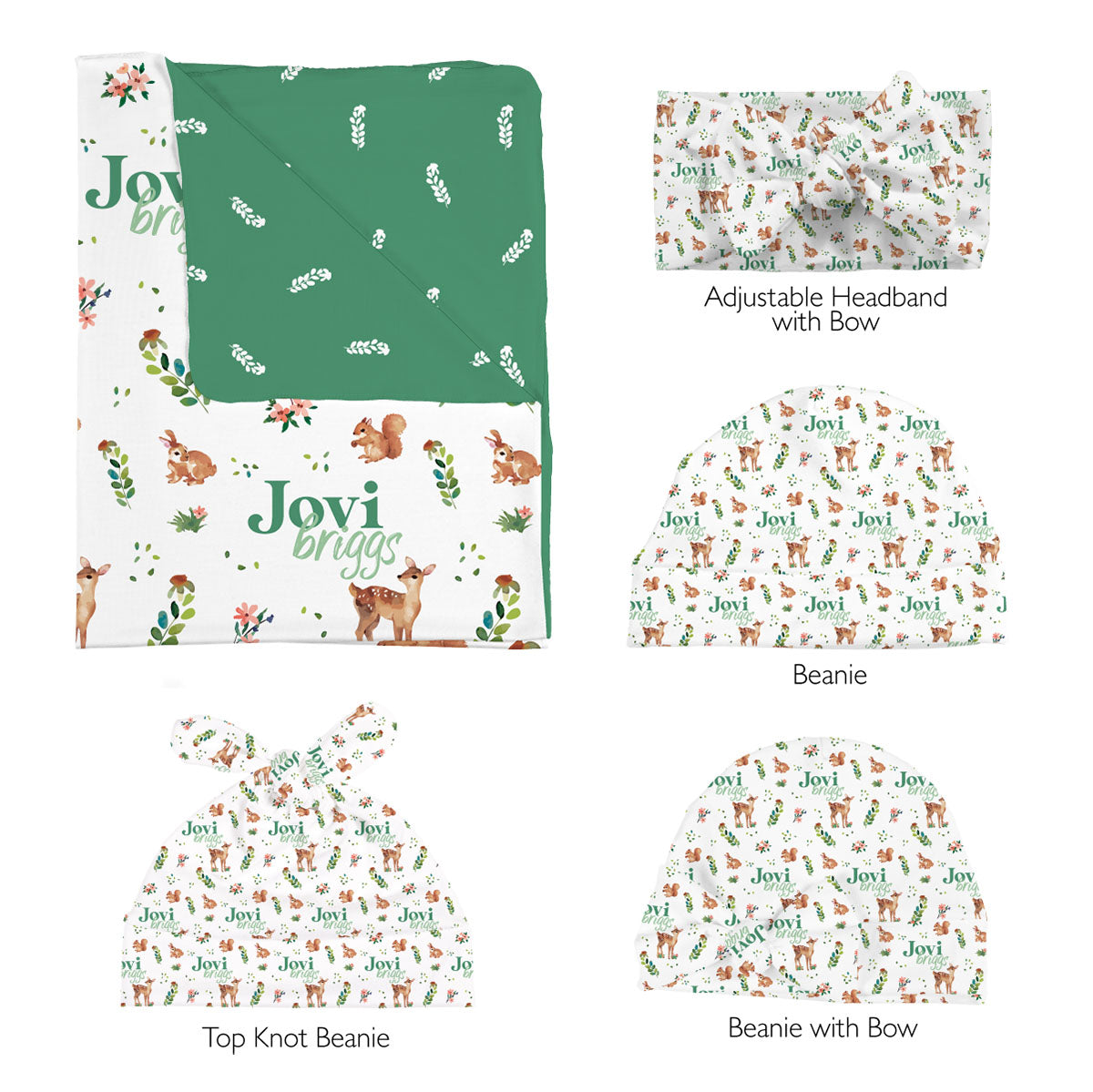 Frolicking Fawns | Swaddle Set