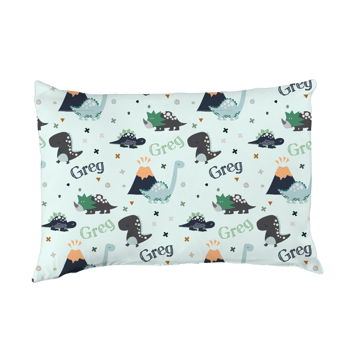 Greg's Dino Adventure | Big Kid Pillow Case