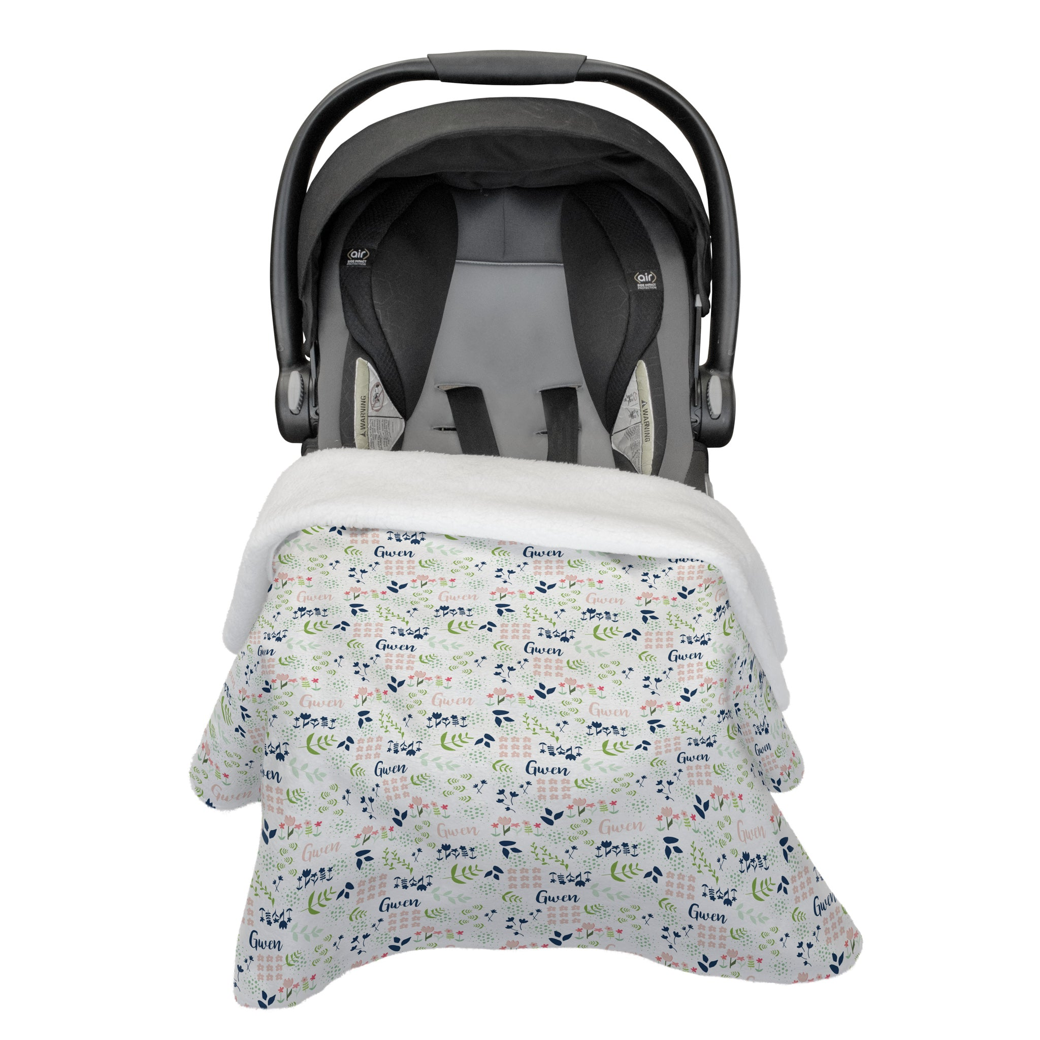 Gwen's Field of Flowers | Car Seat Blanket