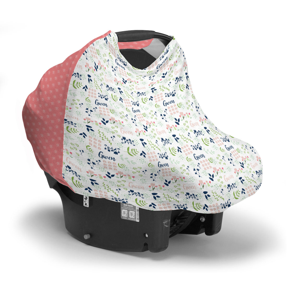 Gwen's Field of Flowers | Car Seat Cover (Multi-Use)
