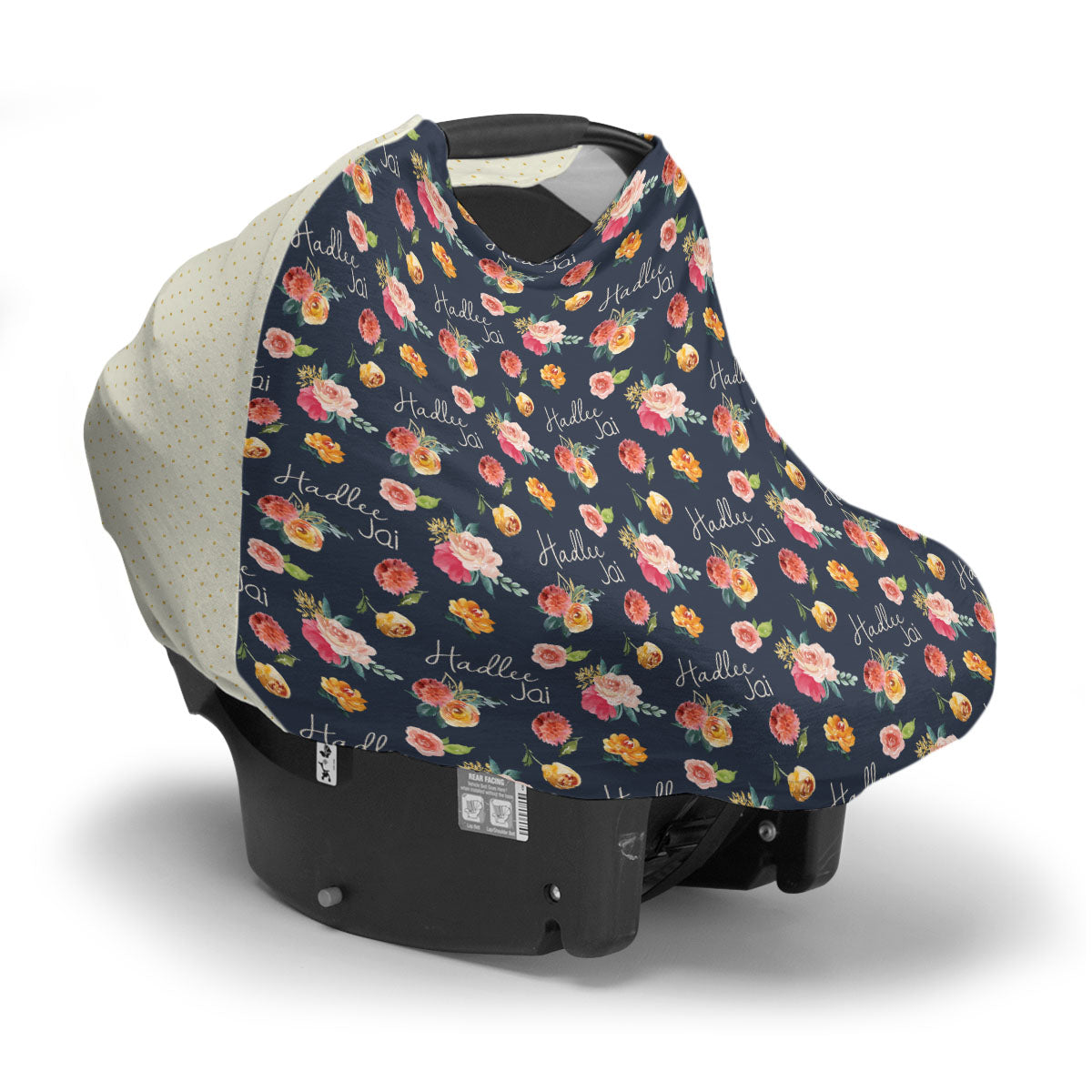 Hadlee's Fall Garden | Car Seat Cover (Multi-Use)