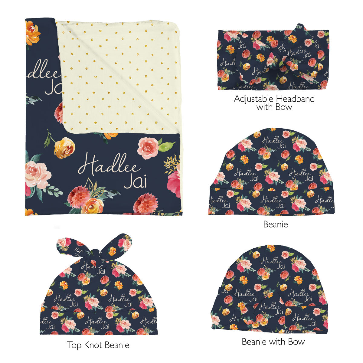 Hadlee's Fall Garden | Swaddle Set