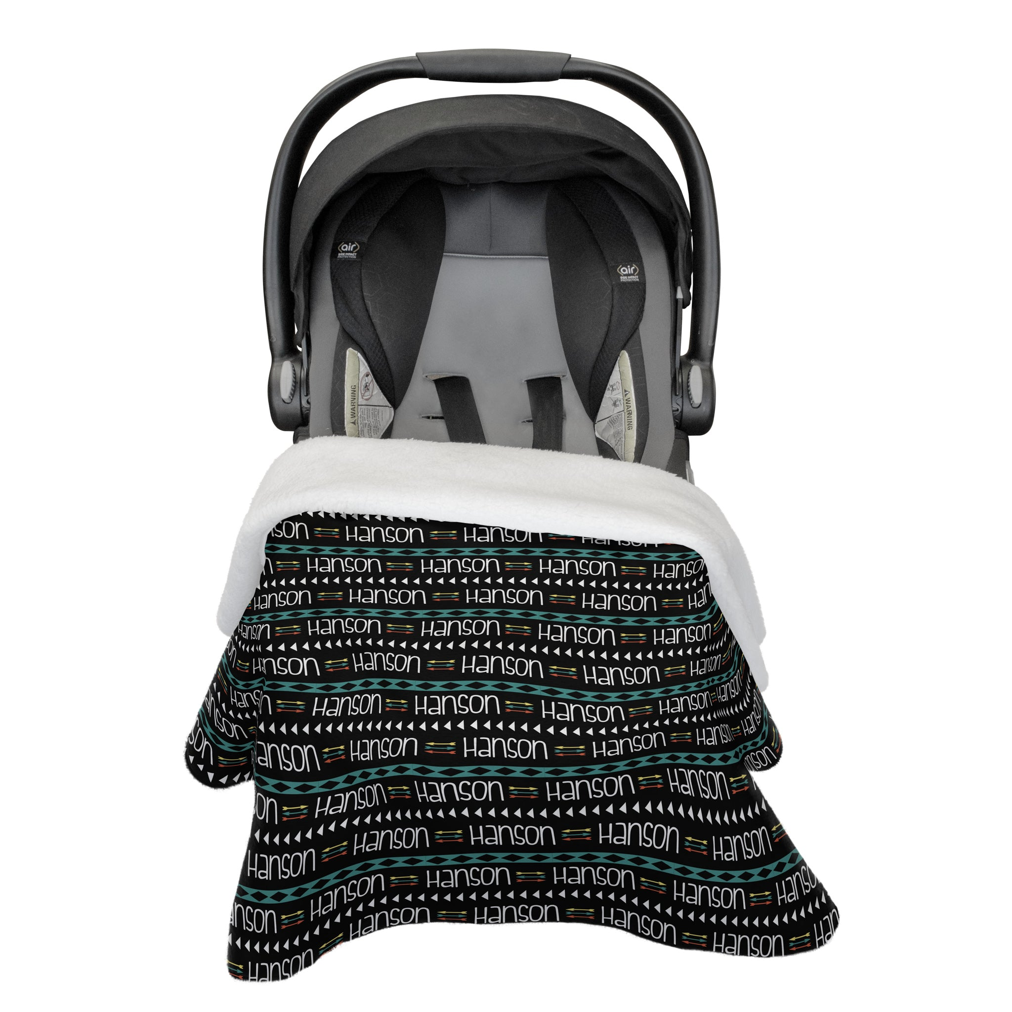 Hanson's Aztec and Arrows | Car Seat Blanket