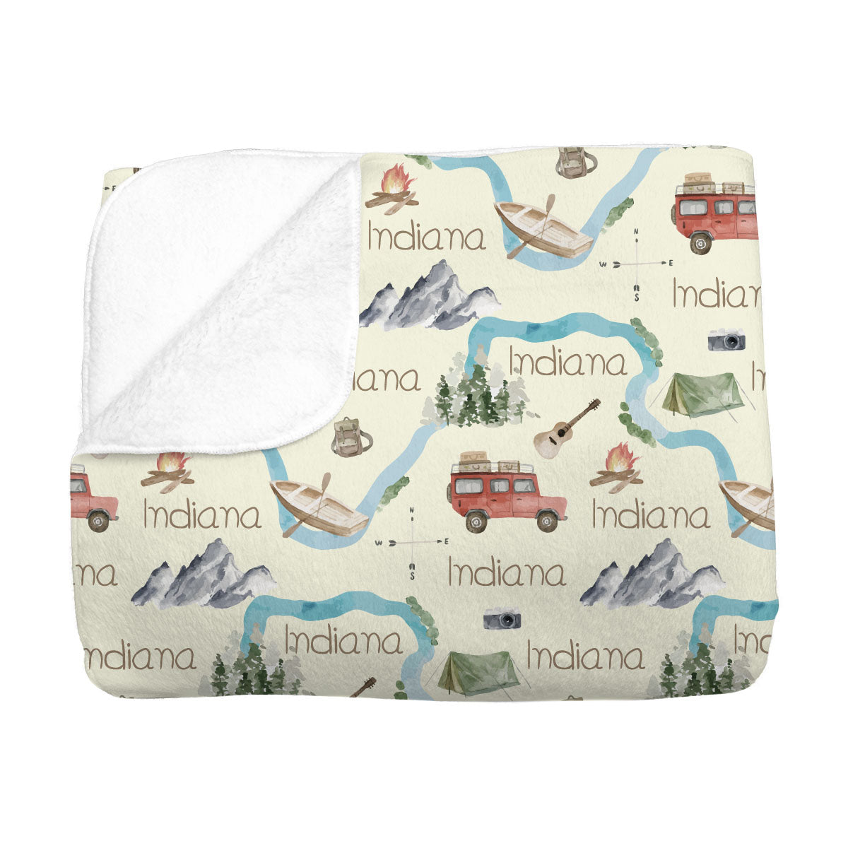 Indiana's Amazing Adventure | Big Kid Blanket