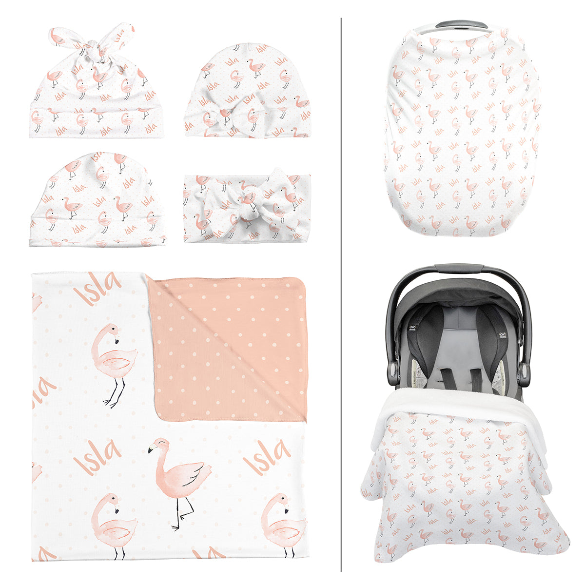 Isla's Fancy Flamingo | Take Me Home Bundle