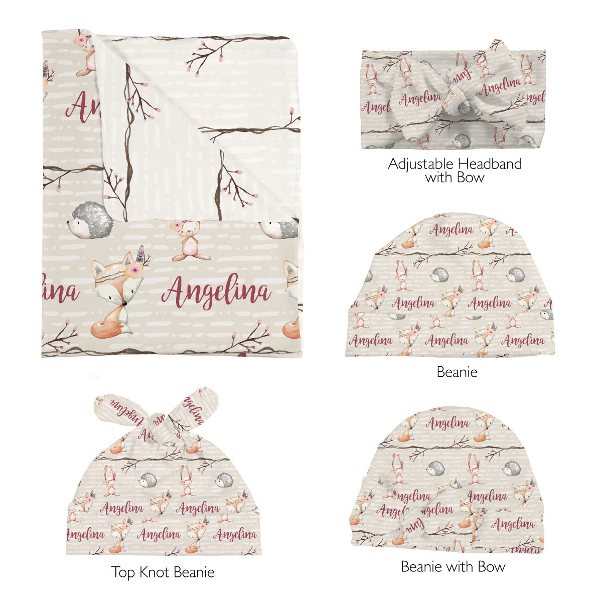 Issy's Forest Fox | Swaddle Set