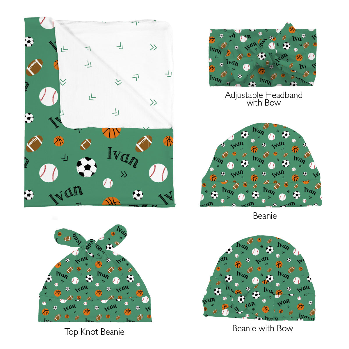 Ivan's Multi Sports | Swaddle Set