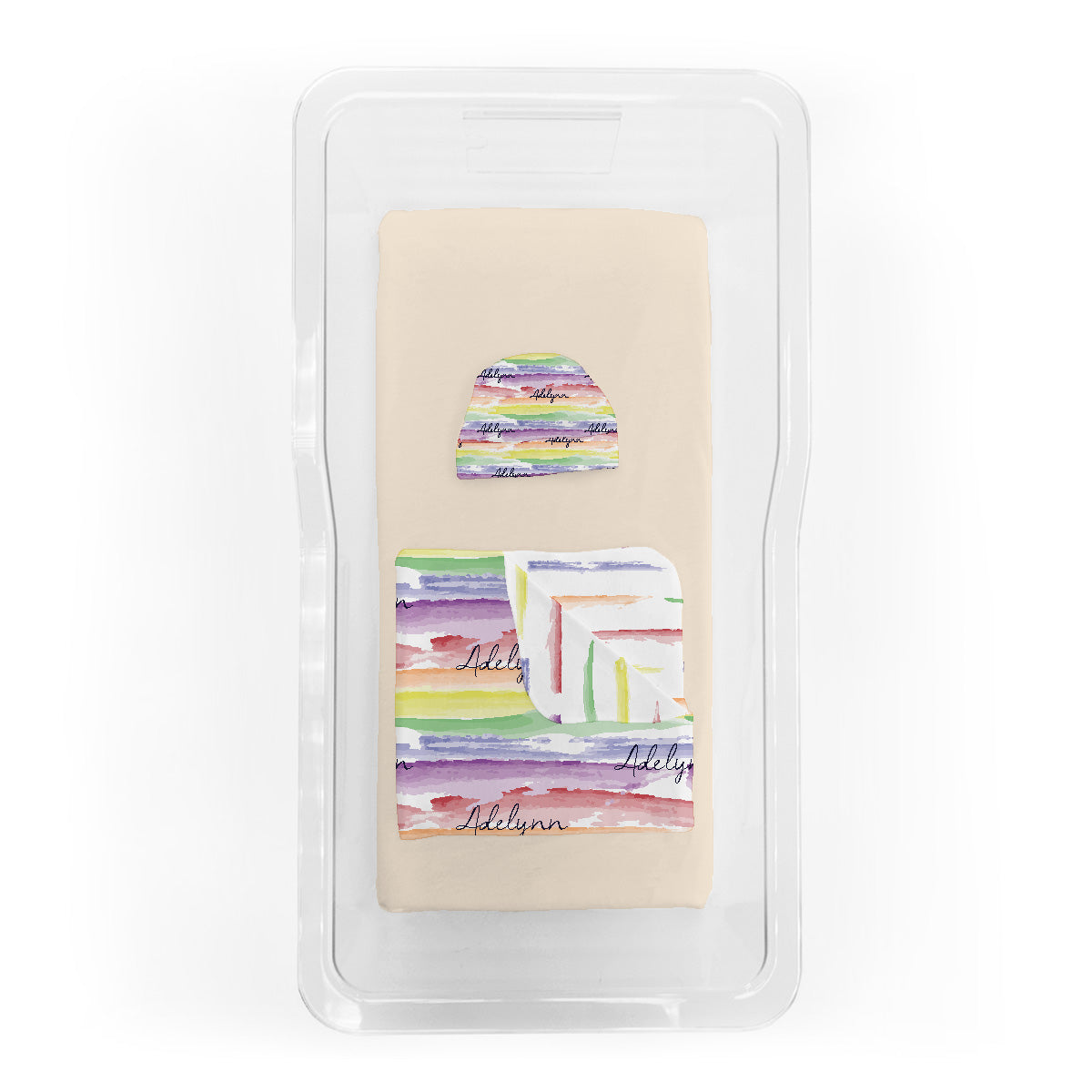 Jayla's watercolor rainbow | Fresh 48 Bundle