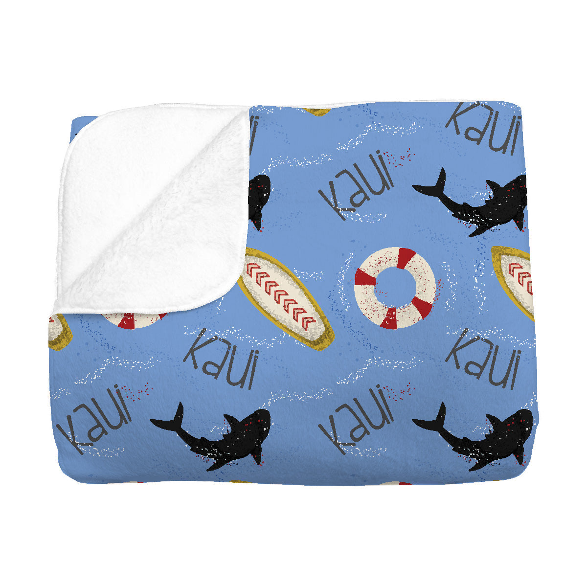 Kaui's Open Surf | Big Kid Blanket