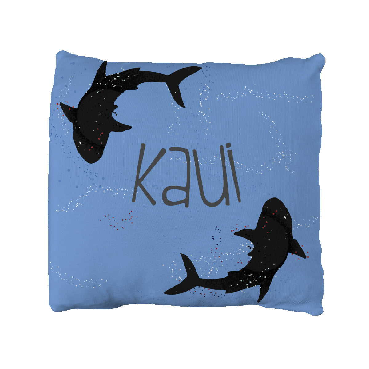 Kaui's Open Surf | Big Kid Throw Pillow