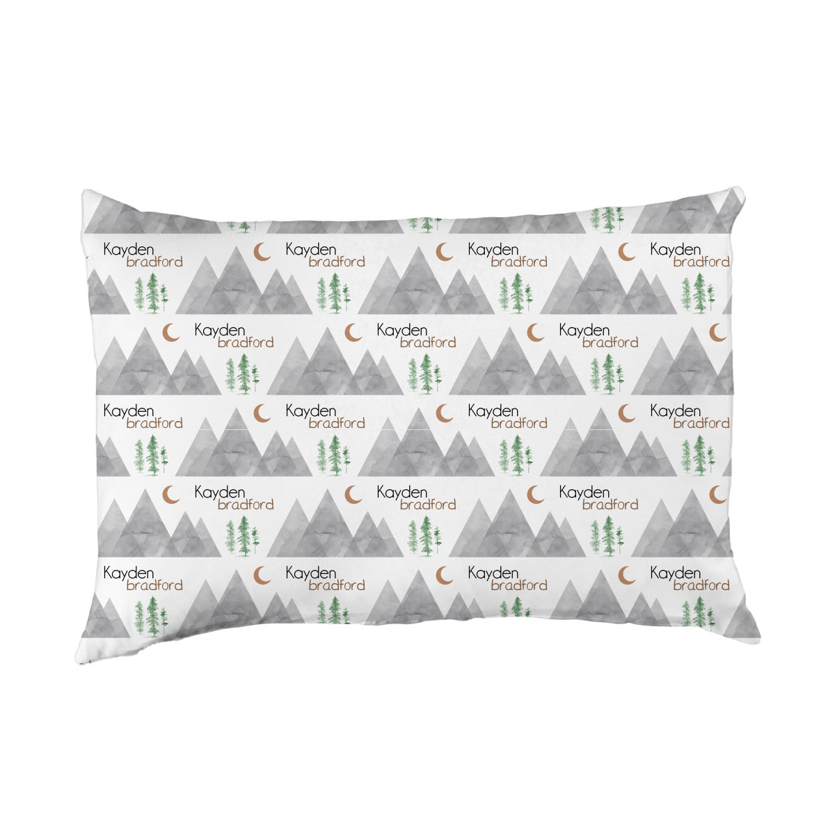 Kayden's Midnight Mountain | Big Kid Pillow Case