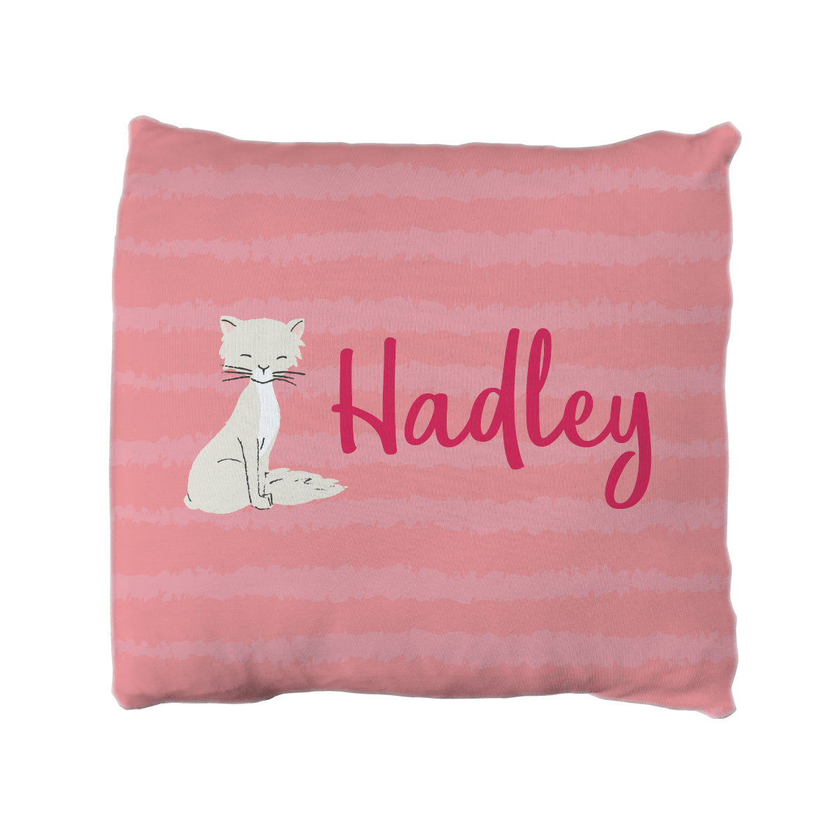 Kim's Kitten Club | Big Kid Throw Pillow