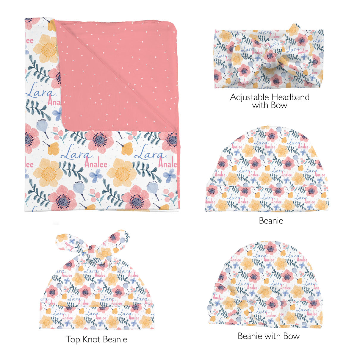 Lara's Fairy Floral | Swaddle Set