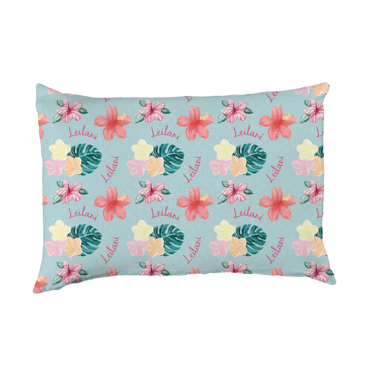 Leilani's Hawaiian Floral | Big Kid Pillow Case