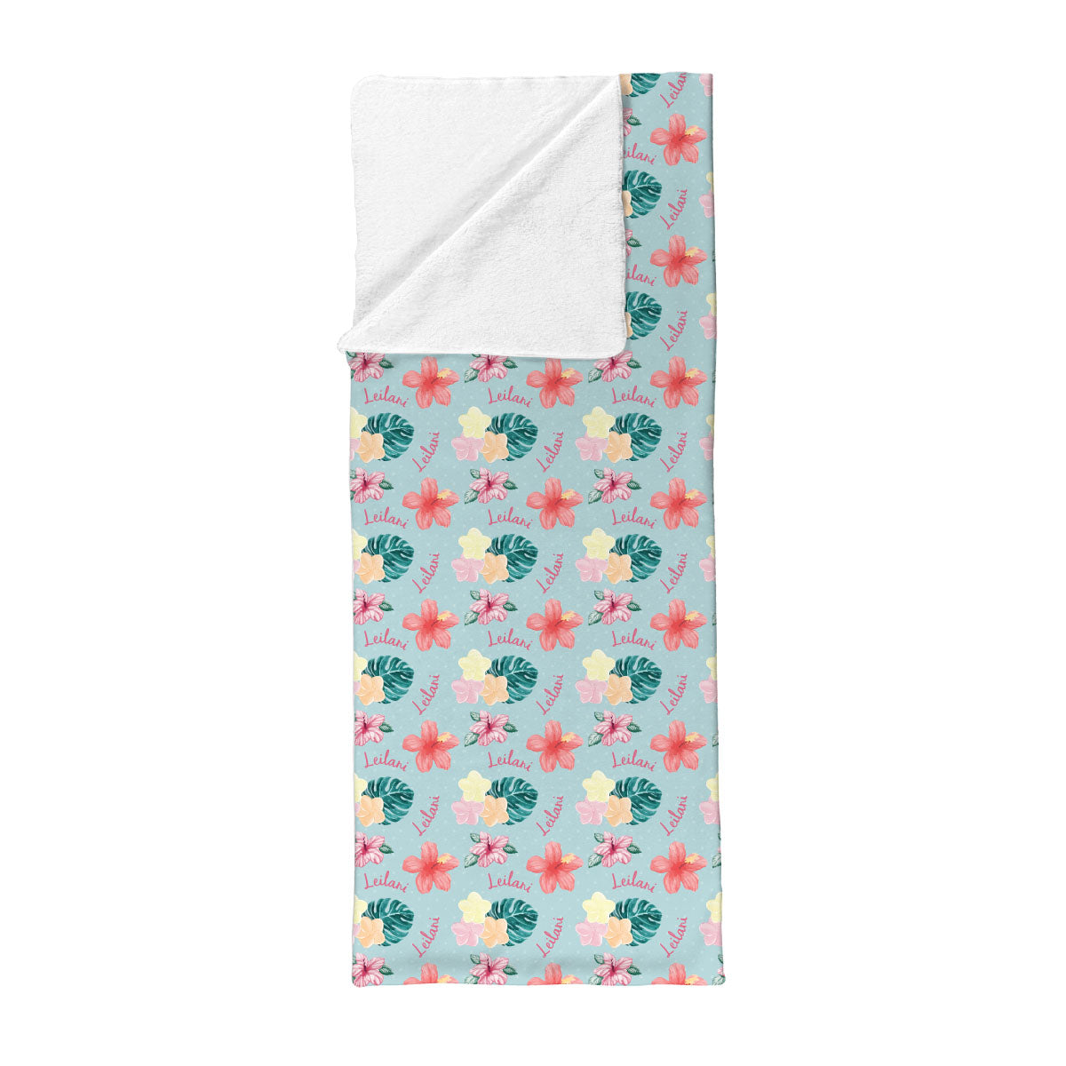 Leilani's Hawaiian Floral | Big Kid Sleepover Sack