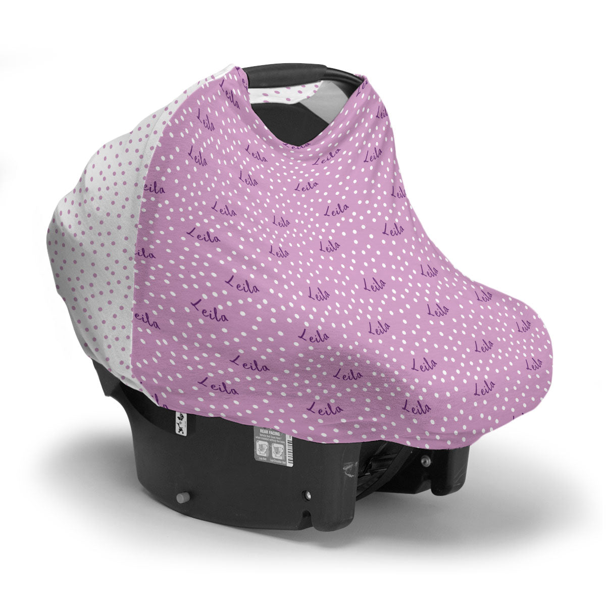 Leila's Small Dots | Car Seat Cover (Multi-Use)