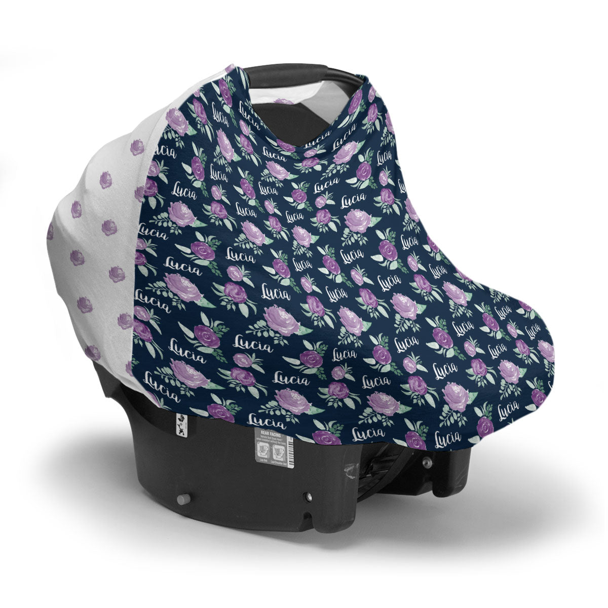 Lucia's Violet Garden | Car Seat Cover (Multi-Use)