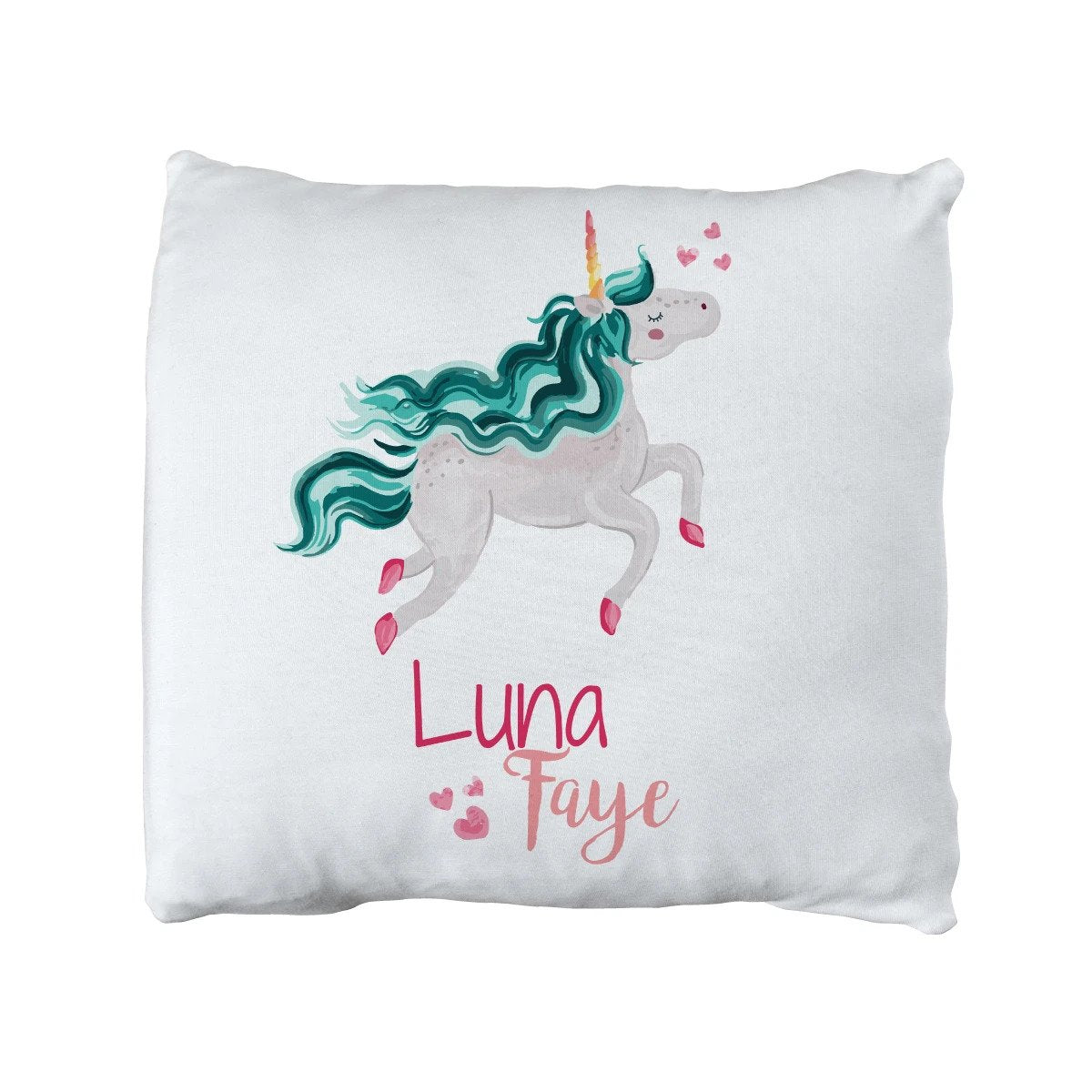 Luna's Magical Unicorn | Big Kid Throw Pillow
