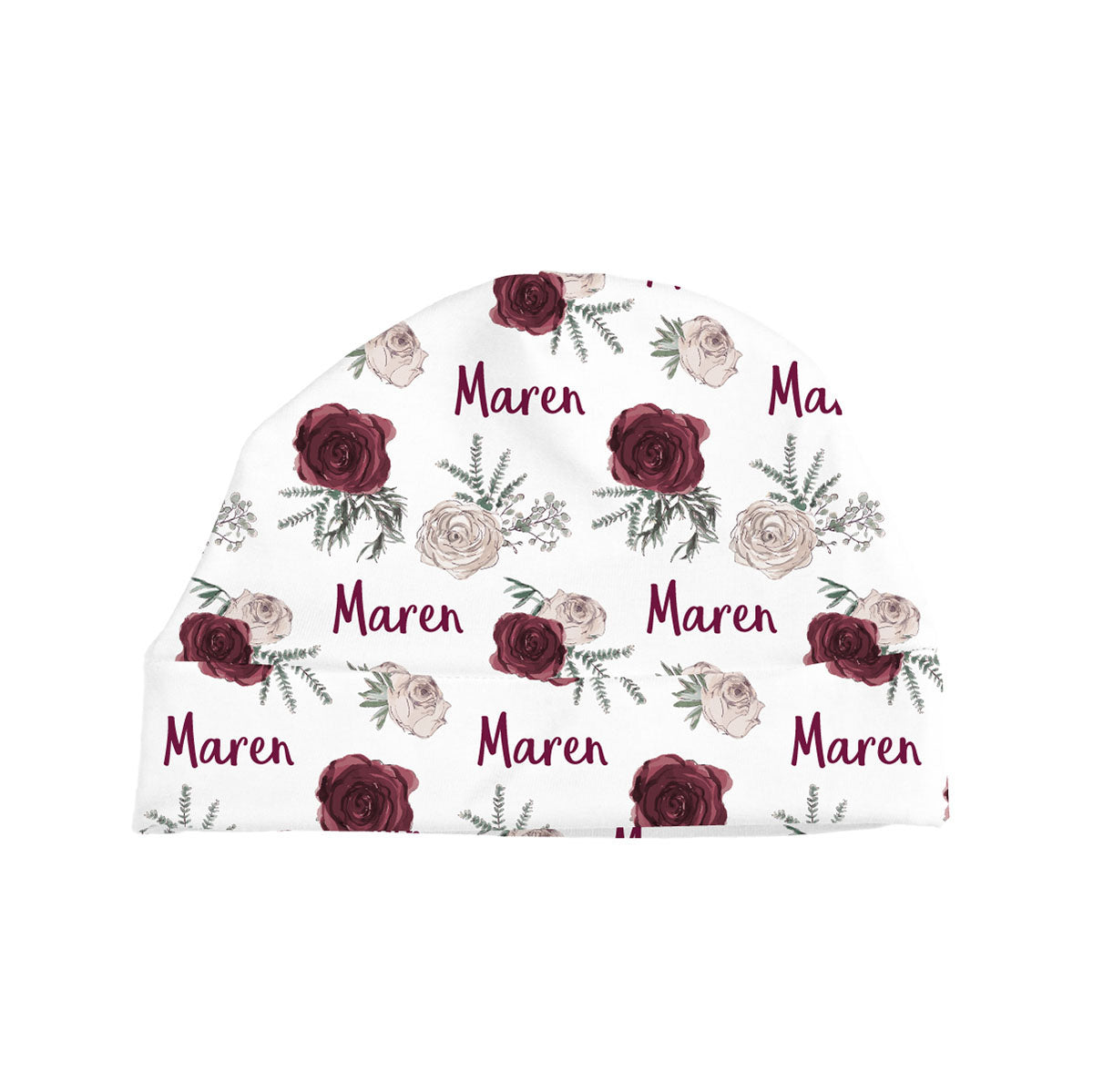 Maren's Winter Floral | Baby Hat