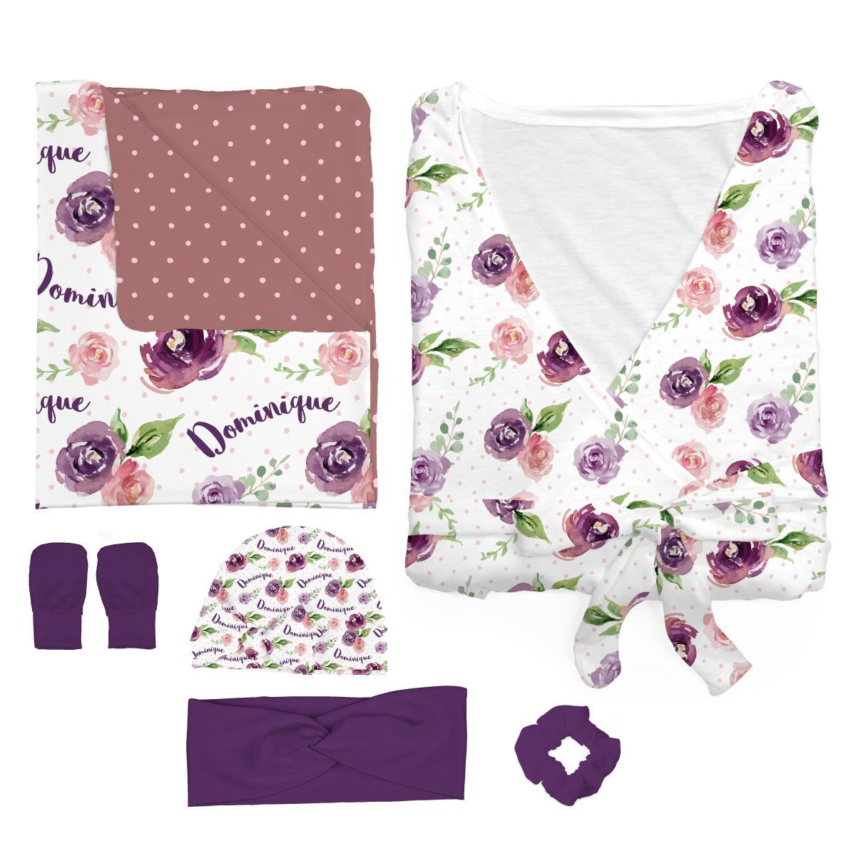 Margot's Magenta Floral | Mommy and Me Bundle
