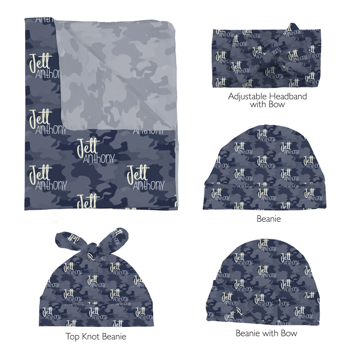 Maverick's High Seas Camo | Swaddle Set