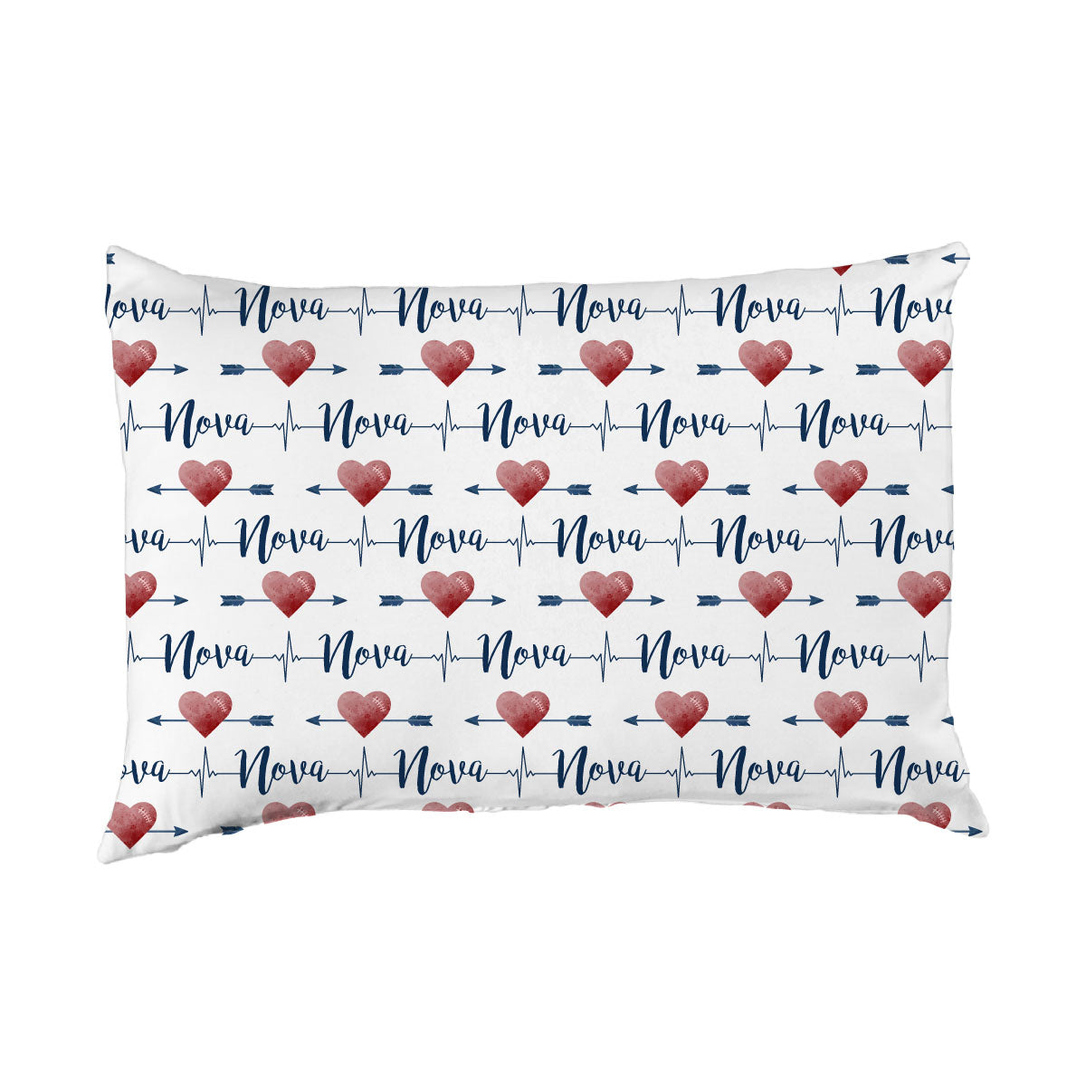 Nova's Heart and Arrow | Big Kid Pillow Case