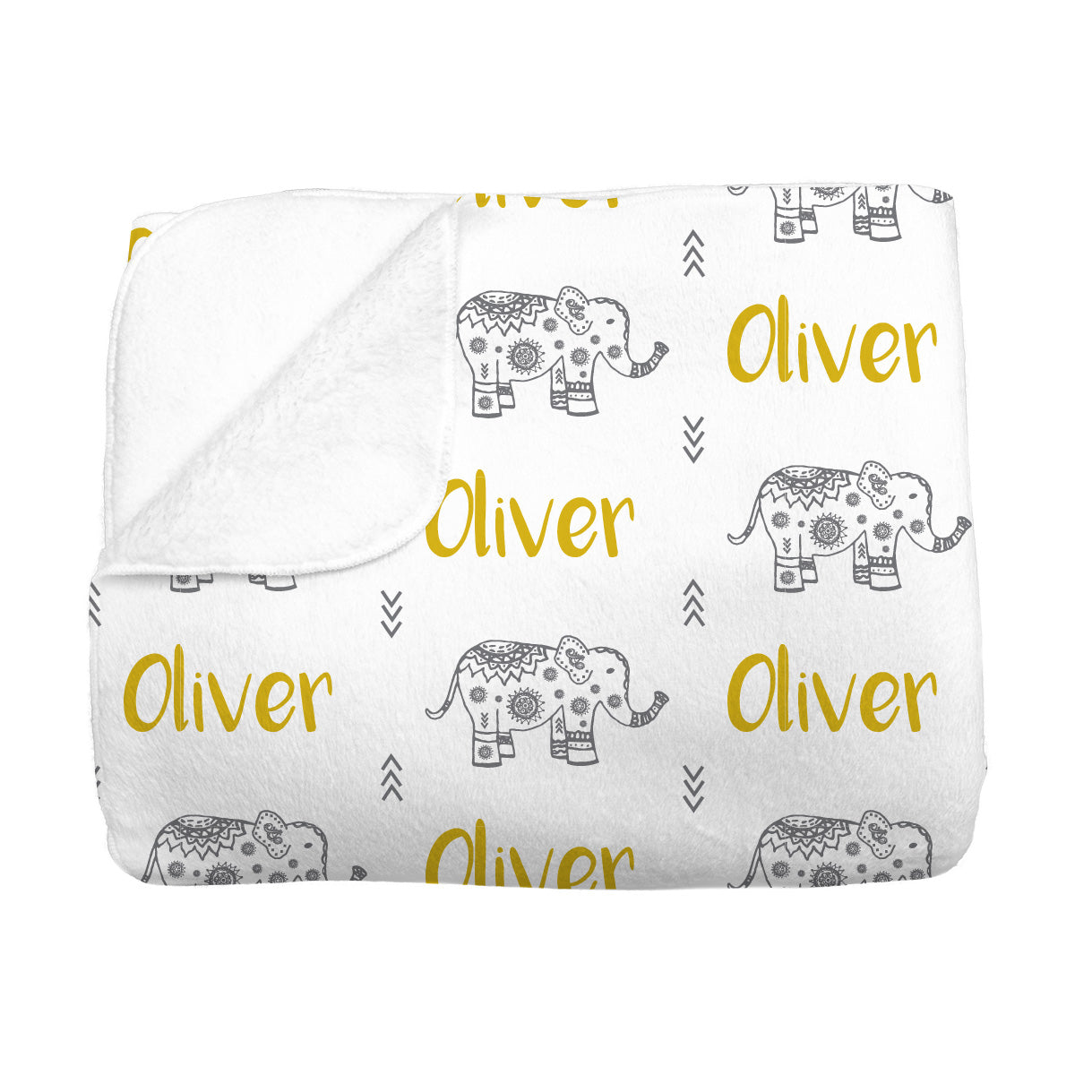 Oliver's Elephant Parade | Big Kid Blanket
