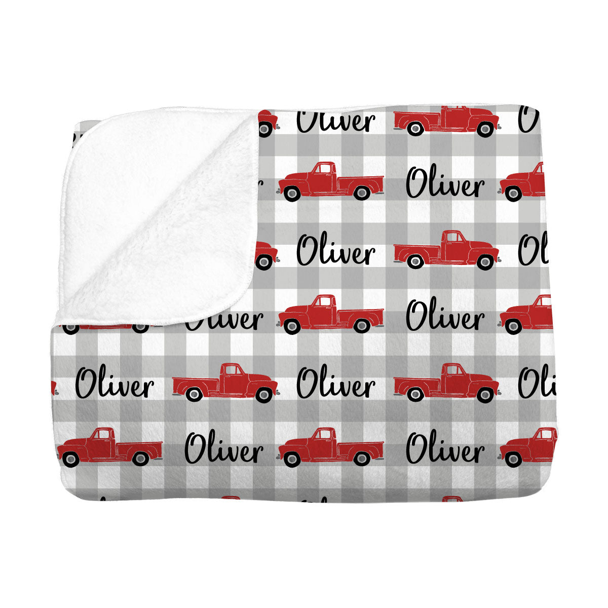 Oliver's Vintage Truck | Big Kid Blanket